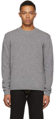 Versace Grey Small Medusa Sweater