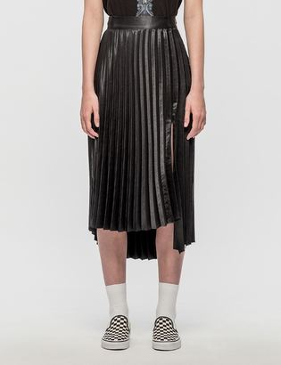 Andersson Bell Leila Slit Pleated Dress $95 thestylecure.com