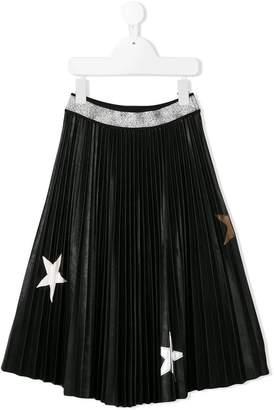 MonnaLisa pleated star skirt