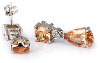 Burgmeister Jewelry JBM1049-221 Cubic Zirconia Silver Earrings