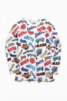 Mitchell & Ness Allover Western Long Sleeve Hockey Jersey