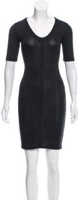 Steven Alan Rib Knit Mini Dress