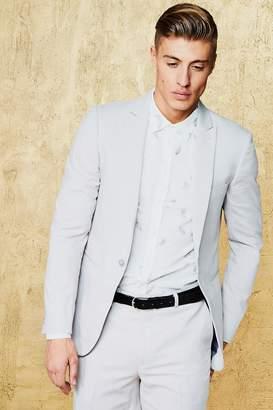 boohoo Plain Skinny Fit Suit Jacket