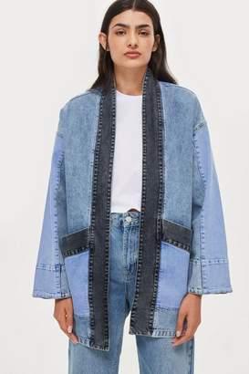NATIVE YOUTH Denim Kimono Jacket
