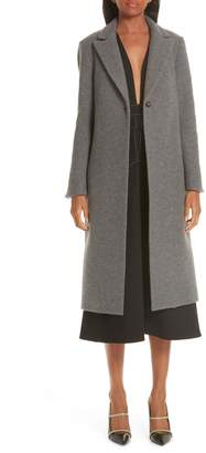 PARTOW One Button Wool Coat