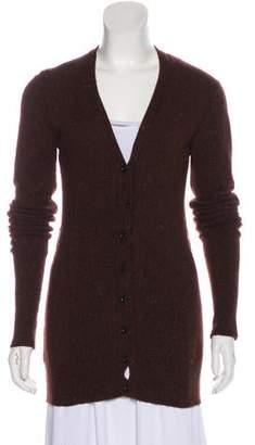Burberry Cashmere Long Sleeve Cardigan