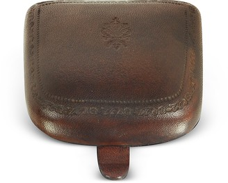 CNC Costume National Peroni Brown Leather Coin Purse