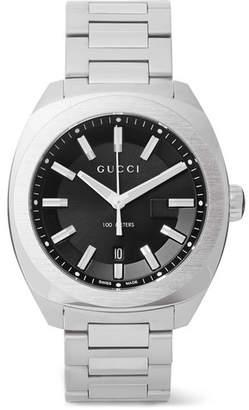 Gucci GG2570 41mm Stainless Steel Watch - Men - Black