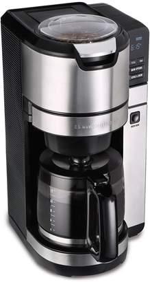 Hamilton Beach Grind & Brew 12-Cup Programmable Coffee Maker