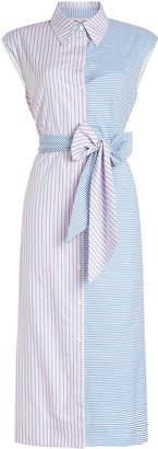 Diane von Furstenberg Sleeveless Cotton Shirt Dress