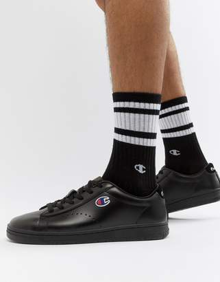 Champion 919 Low Sneakers In Black