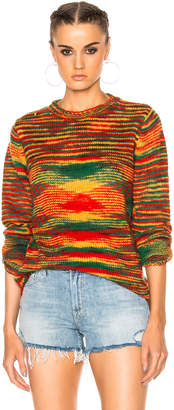The Elder Statesman for FWRD Dipped Picasso Sweater