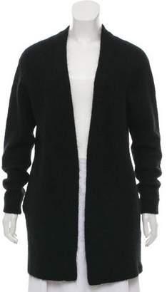 Acne Studios Mohair & Wool-Blend Open Front Cardigan