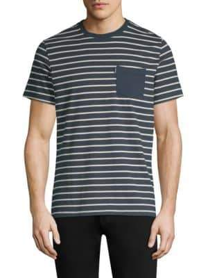 Barbour Tow Stripe Short-Sleeve Cotton Tee
