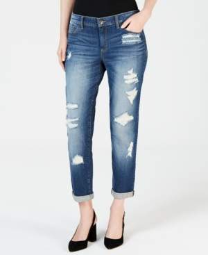 INC International Concepts I.n.c. Distressed Boyfriend Jeans, Created for Macy's