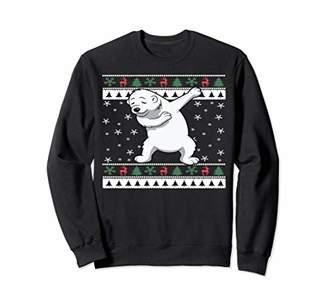 Funny Men Women Dabbing Bear Lover Ugly Christmas Sweatshirt