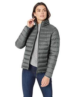 Amazon Essentials Women's Standard Lightweight Water-Resistant Packable Puffer Jacket