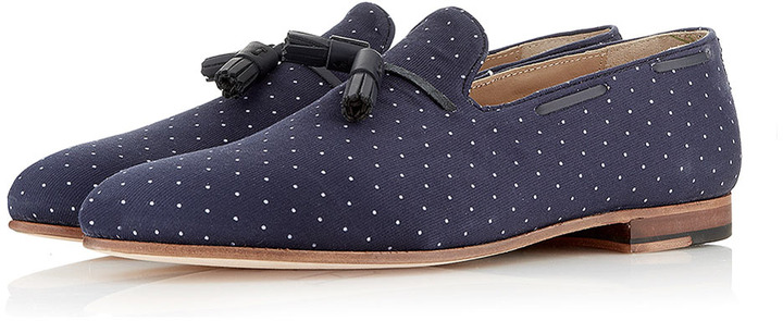 """Topman House of Hounds """"Alfred"""" Slippers"""