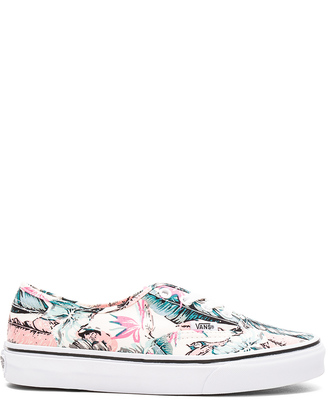 Vans Tropical Authentic Sneaker $55 thestylecure.com