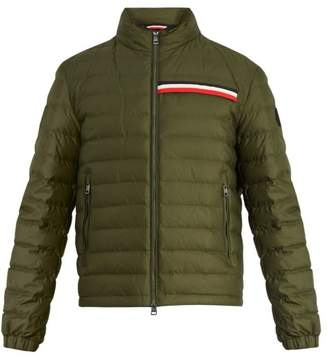 fb72bc1fa90 Moncler Edgard Hooded Quilted Down Jacket - Mens - Green