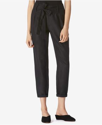 Avec Les Filles Paper Bag Tie-Waist Trousers $68 thestylecure.com