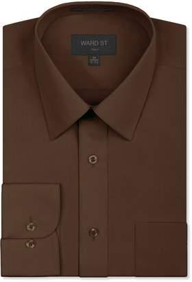 Ward St Men's Regular Fit Dress Shirts, XL, 17-17.5N 32/33S