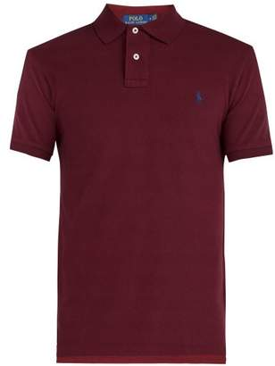 Polo Ralph Lauren - Cotton Piqué Polo Shirt - Mens - Burgundy