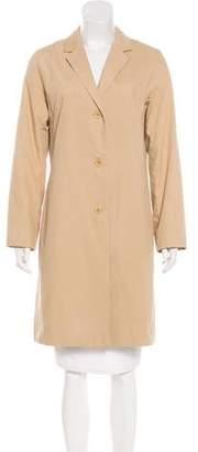 Brooks Brothers Knee-Length Notch-Lapel Coat
