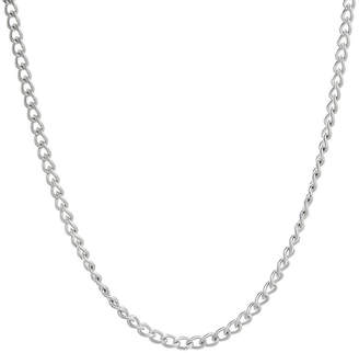 JCPenney FINE JEWELRY Mens Stainless Steel 18 2mm Curb Chain