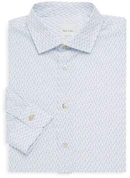 Paul Smith Slim-Fit Tailored Dress Shirt