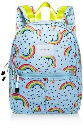 STATE Mini Kane Rainbow-Print Backpack