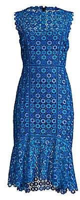 Elie Tahari Women's Breanna Lace Midi Dress