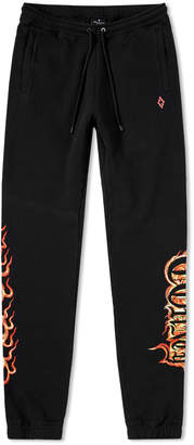 Marcelo Burlon County of Milan Flame Sweatpants