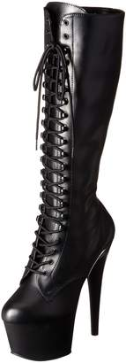 Pleaser USA Women's Adore-2023/B/PU Boot