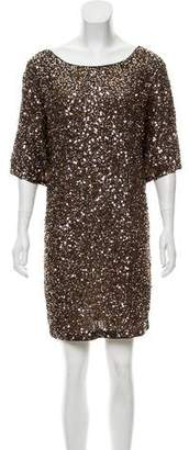 Vince Sequin Shift Dress