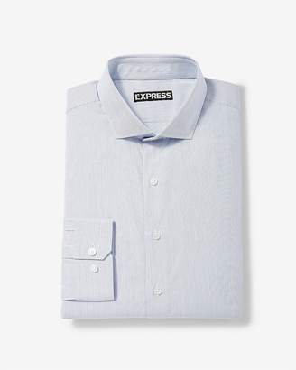 Express Classic Stripe Cotton Dress Shirt