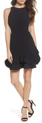 Chelsea28 Tiered Ruffle Hem Dress