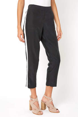 Abbeline Side Stripe Tapered Soft Pant
