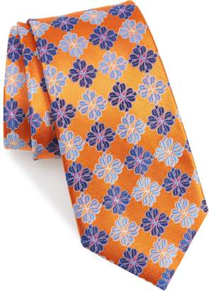 Nordstrom Cole Floral Silk Tie