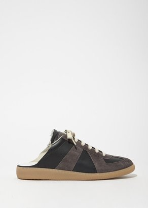 Maison Margiela Replica Suede Slip-On Sneakers $495 thestylecure.com