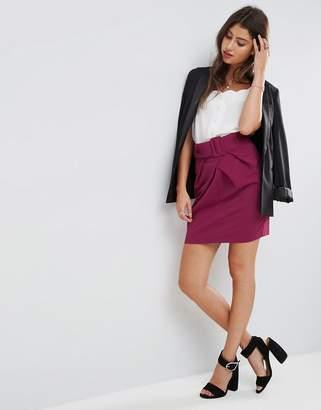 Asos Belted Mini Skirt