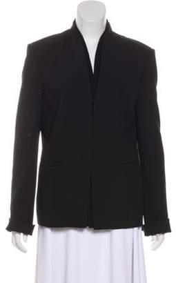 J Brand Tonal Casual Blazer Black Tonal Casual Blazer
