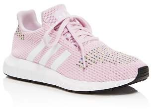 adidas Women's Swift Run Knit Lace Up Sneakers
