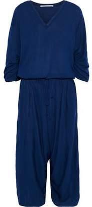 c71d6c1f51c0 Stella McCartney Cropped Gathered Wool-jersey Jumpsuit