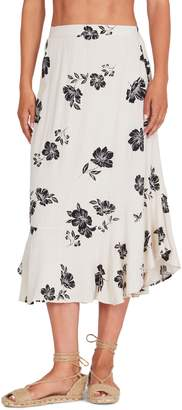 Amuse Society Jardines Del Ray Midi Skirt