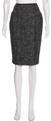 Amanda Wakeley Knee-Length Wool Skirt