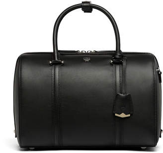 MCM Essential Boston Bag In Smooth Leather