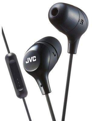 JVC Hafx38M#variation Marshmallow Custom Fit In-Ear Headphones With Remote & Mic