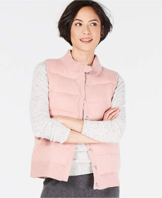 Charter Club Cashmere Puffer Vest, in Regular & Petite Sizes, Created for Macy's