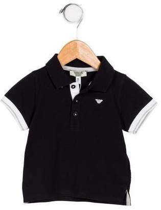 Giorgio Armani Baby Boys' Short Sleeve Polo Shirt w/ Tags